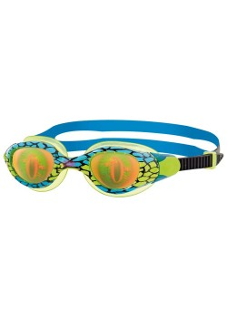 Zoggs Sea Demon Junior Svømmebrille Blue/green Dreng-20