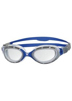 Zoggs Predator Flex Svømmebriller blå/sølv (2018)-20