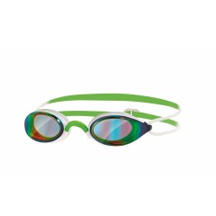 Zoggs Fusion Air Spejlglas. Hvid/Grøn