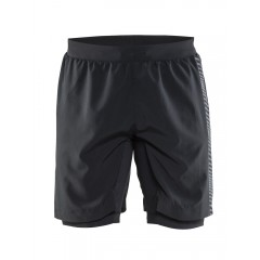 Craft Grit Shorts m/indershorts - Herre