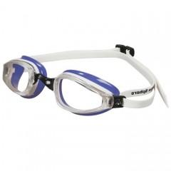 Michael Phelps K180 Clear Lens Purple/white LADIES