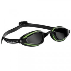 Michael Phelps K180+ Dark Lens Green/Black