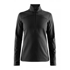 Craft Pin Halfzip - Dame - Sort/Black