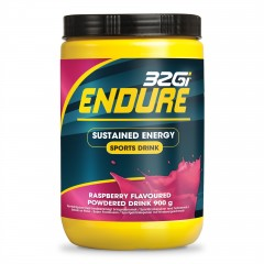 32Gi Endure Energidrik hindbær 900 g.