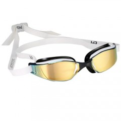 Michael Phelps Xceed Titanium Mirror White/Black Gold Edition