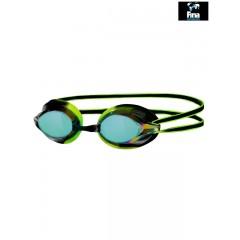 Zogga Racespex Spejllinse svømmebrille. Sort/grøn